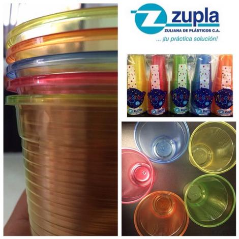 Alegría: nuevos vasos de colores